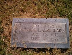 Karrie L Almendariz