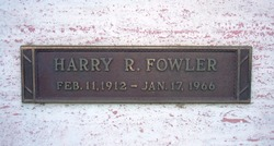 Harry Russell Fowler