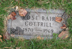 Rose <i>Bair</i> Cottrill