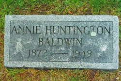 Annie <i>Huntington</i> Baldwin