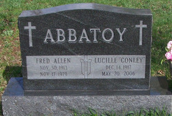 Lucille <i>Conley</i> Abbatoy
