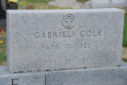 Gabrieli Margarete Ella <i>Henry</i> Cole
