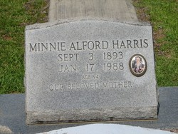 Minnie Alford Harris