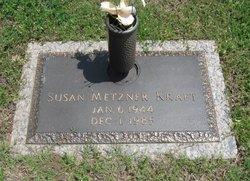 Susan <i>Metzner</i> Kraft