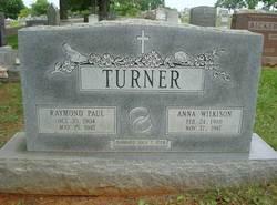 Anna Louise <i>Wilkison</i> Turner