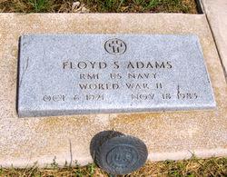 RM1 Floyd Sherman Adams