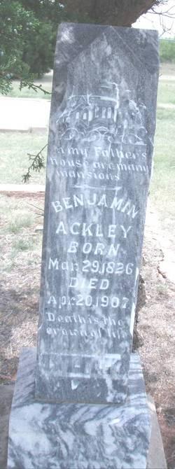 Benjamin Ackley