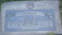 Dean McIntyre Parker