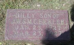 Billy Eickler