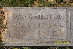 Mary Greene <i>Abbott</i> Cox