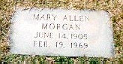 Mary Allen Morgan