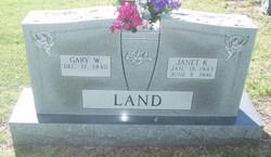 Janet K. <i>Simrell</i> Land
