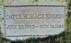 Datus Horace Ensign