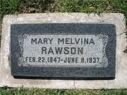 Mary Melvina <i>Taylor</i> Rawson