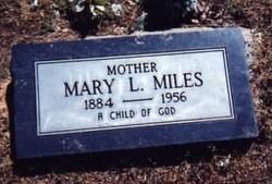 Mary Levina Granny <i>Hunter</i> McCarley Miles