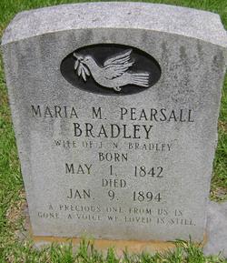 Maria M. <i>Pearsall</i> Bradley