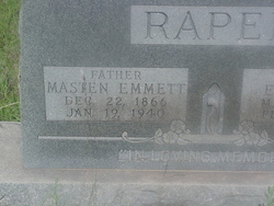 Masten Emmett Raper