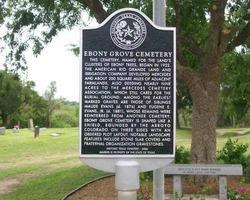 Ebony Grove Cemetery