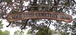 Cedar Yard Cemetery
