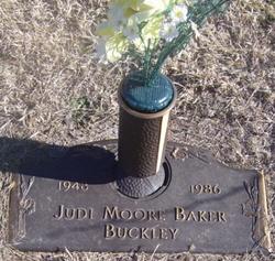 Judi <i>Moore</i> Baker