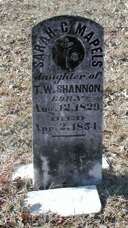 Sarah C. <i>Shannon</i> Maples