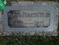 Martha Lovina <i>Francom</i> Webb