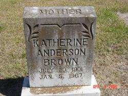 Katherine <i>Anderson</i> Brown