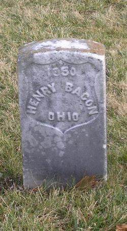 Pvt Henry Bacon