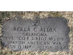 Chief Rolla Clark Alder