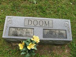 Annie Mildred <i>Sherbut</i> Doom
