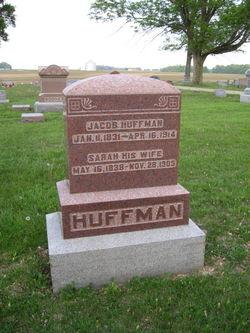 Sarah <i>Baker</i> Huffman