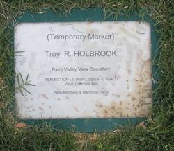 Troy Richard Holbrook