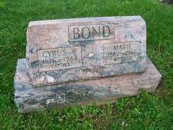 Marie <i>Bonser</i> Bond