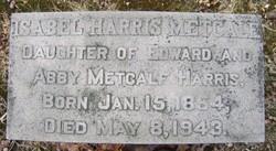 Isabel Gaylord <i>Harris</i> Metcalf