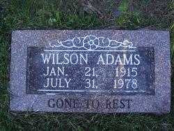 James Wilson Wilson Adams