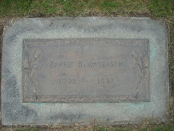 Ernest Henry Andy Anderson