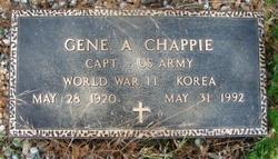 Eugene Albert Gene Chappie