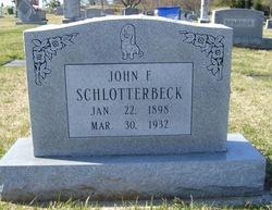 John Frederick Schlotterbeck