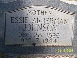 Essie <i>Alderman</i> Johnson