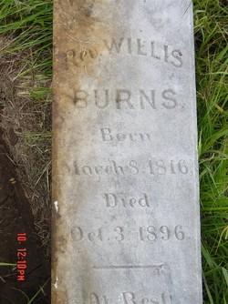 Rev Willis Burns, Sr