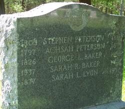 Sarah R. <i>Peterson</i> Baker