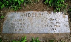 Anna Olive Anderson