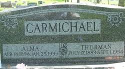 Alma <i>Hiles</i> Carmichael