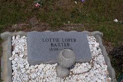 Lottie <i>Loper</i> Baxter