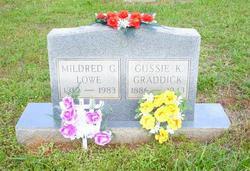 Mildred <i>Graddick</i> Lowe