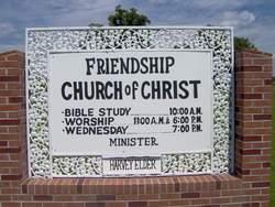 Friendship Church of Christ Cemetery