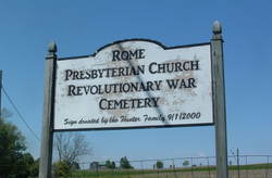 Rome Presbyterian Church Revolutionary War Cemeter