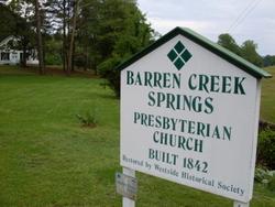 Barren Creek Springs Cemetery