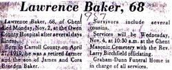 Lawrence B. Baker