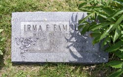 Irma Frances <i>Gross</i> Famuliner
